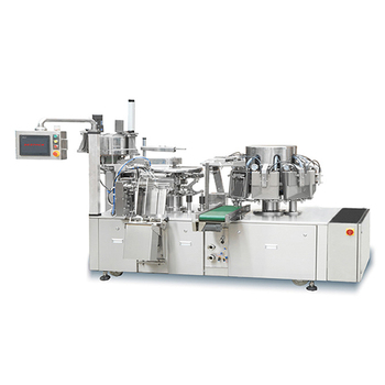 High intelligent Automatic Rotary plastic bag food packaging machine with vacuum , automatic vacuum packager