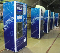 Automatic purified water Kiosk in 24 hour service