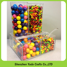 Retail shop used high quality box for candy, couter candy dispenser custom
