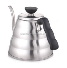 High quality 304 stainless steel kettle pour over coffee kettle