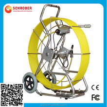 Video Snake SD-1058 Color Wall and Pipe Inspection Camera System mounted pipeline inspection cctv 1/4 Sony CCD camera