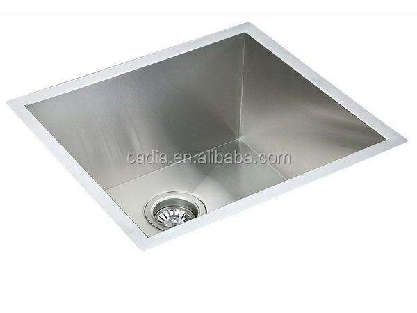 Cheap best-Selling 510X460X200mm Single bowl Under mounted china metal wash basin stand