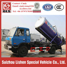 12T 4X2 Dongfeng 190HP Sewer/ Septic/ Sludge Suction Truck
