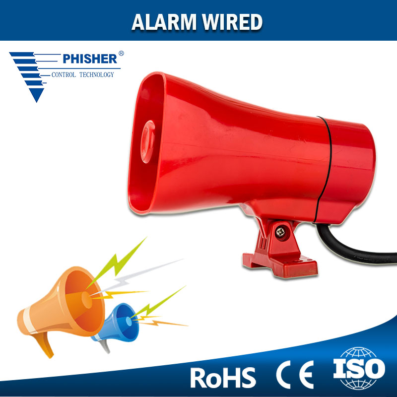 Industrial Security Equipment 4 Different Sounds 2 Wired Alarm