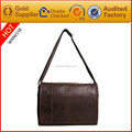 Factory Price High Quality Genuine Leather Briefcase Man Small Shoulder Bags for Men