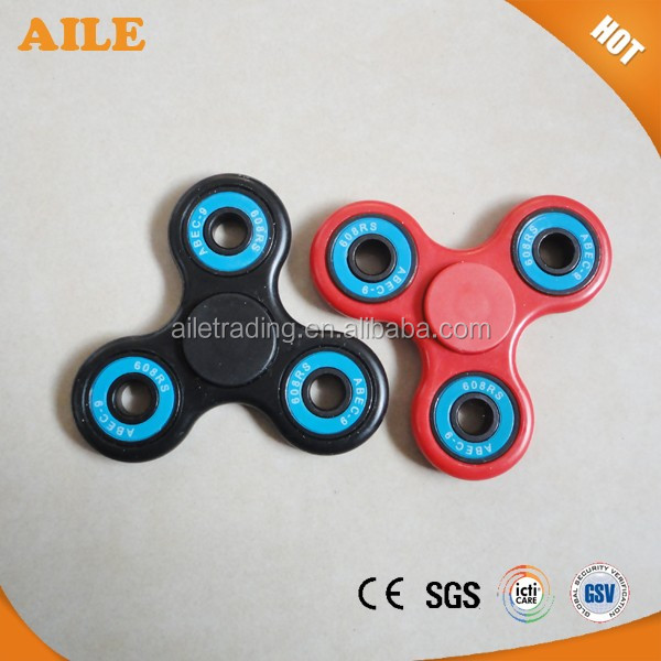 Hand Spinner Fidget Toy With 608 Ceramic Bearing Customized