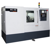 Slant Bed CNC Turning Center Lathe Machine SC40G with 8T Tool Turret