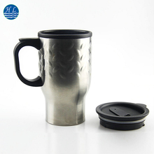 New style simple stainless steel coffee mugs with handle