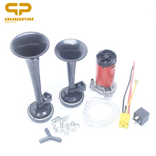Universal 12V 135db electric car horn compressor Kit Motorcycle Boat horn Whistle voice sound bang loud motorcycle horn