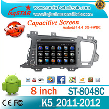 In dash android multimedia car DVD player with Navigation for KIA Optima 2011-2012