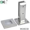 stainless steel 316L deck mount glass pool fence spigot