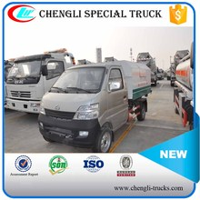 ChangAn 4x2 Small Sealed Garbage Truck Rear Loader Garbage Dump Truck