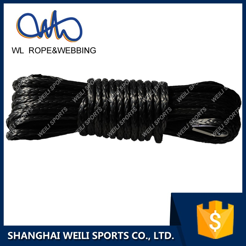 (WL Rope) Synthetic winch rope drum winch rope cable for ATV/UTV