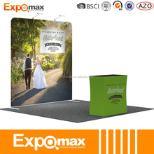 exhibition display pop up design portable booth for trade show booth