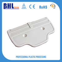 Low cost custom-made plastic container mold parts abs sheet price