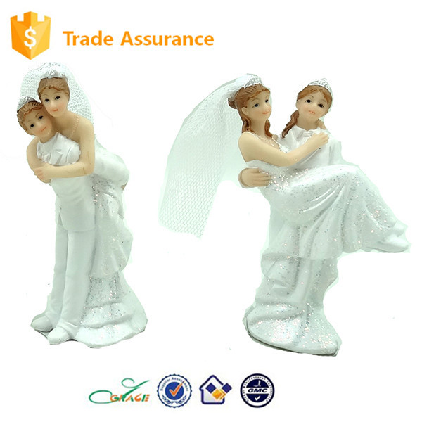 Resin Gift Loving Couple Marry Souvenirs Decoration Wedding