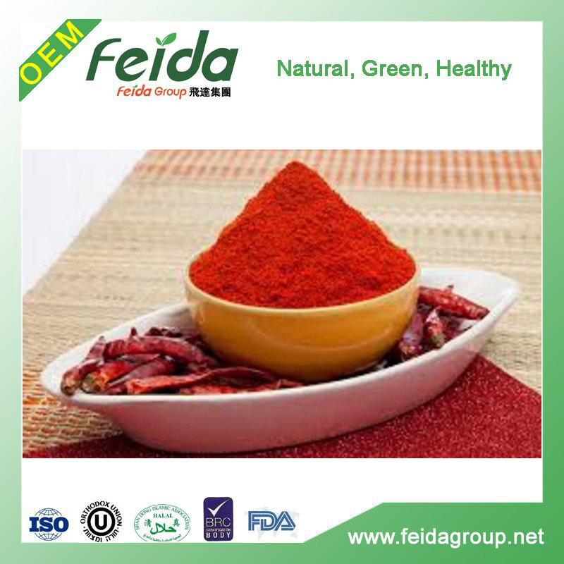 SUN DRIED Drying Process and RED Color chilli paprika powder