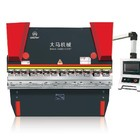 China factory WC67Y hydraulic press brake in maanshan for steel plate with controler