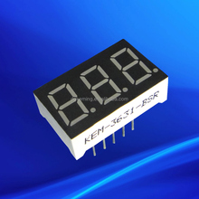 0.36 inch white triple digit 7 segment led display for Cash Counter