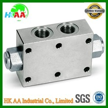 Custom Flangeable Double Pilot Operated Check Valve, Aluminum / Steel Alloy Swing Water Pilot Operated Check Valve