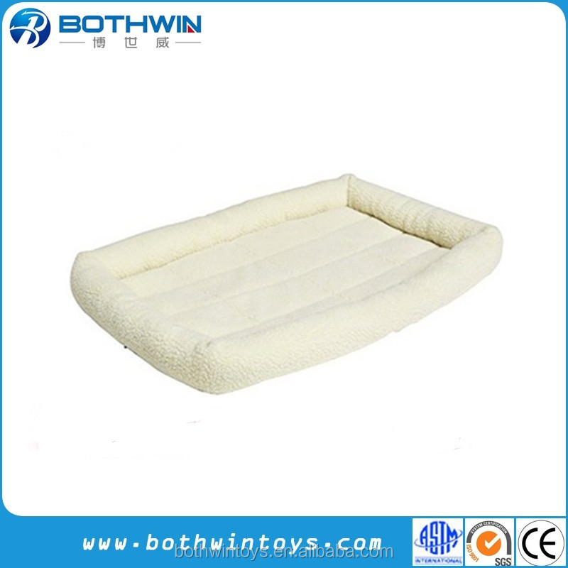 Machine Washable Padded Pet Dog Bolster Bed
