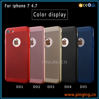 high quality products mesh radiating slim phone case for iphone 7 hard pc back case