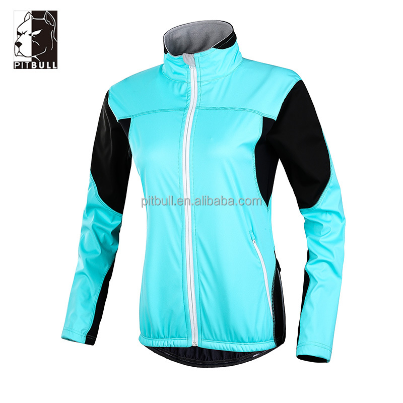 women's softshell windbreaker high class cycling jacket