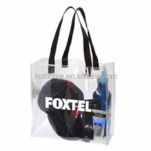 Resuable Nice Clear PVC Shopping Bag
