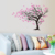 Beautiful wall decor colorful art design tree wall stickers in living room