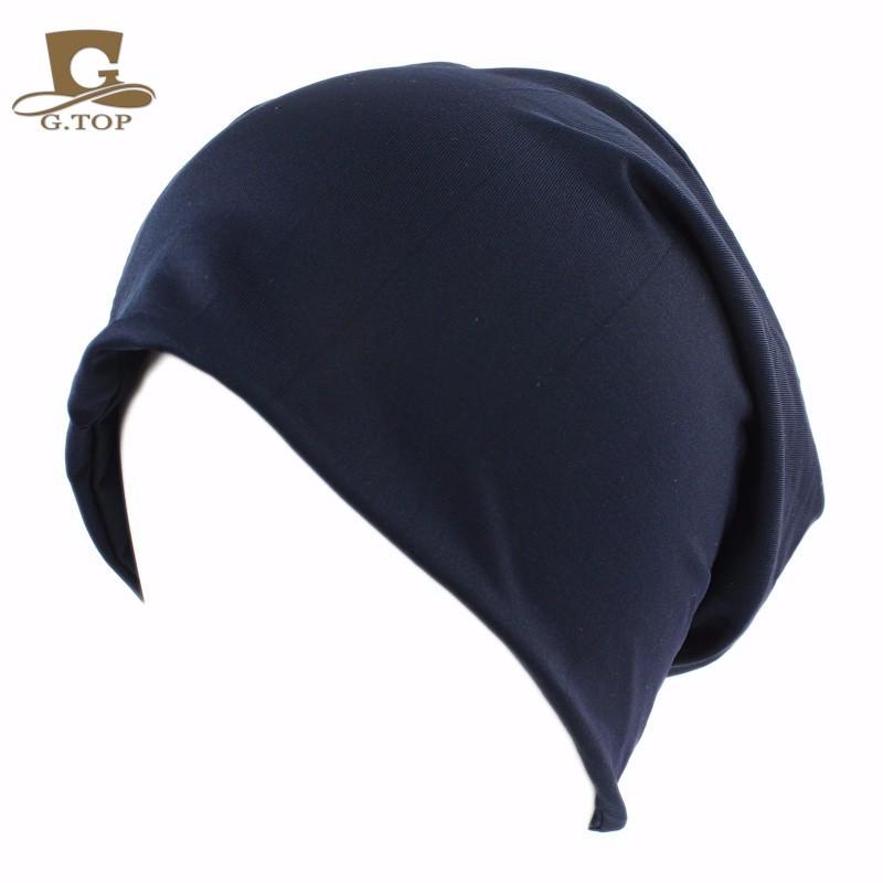 Neue stretchy baggy hut multifunktions stirnband slouchy beanie cap ...