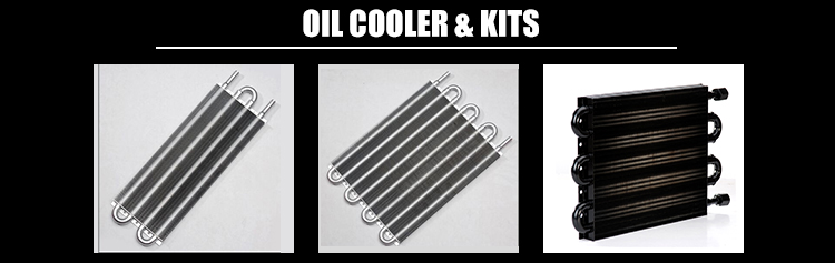 High Performance Universal 19 Rows Auto Engine Oil Cooler
