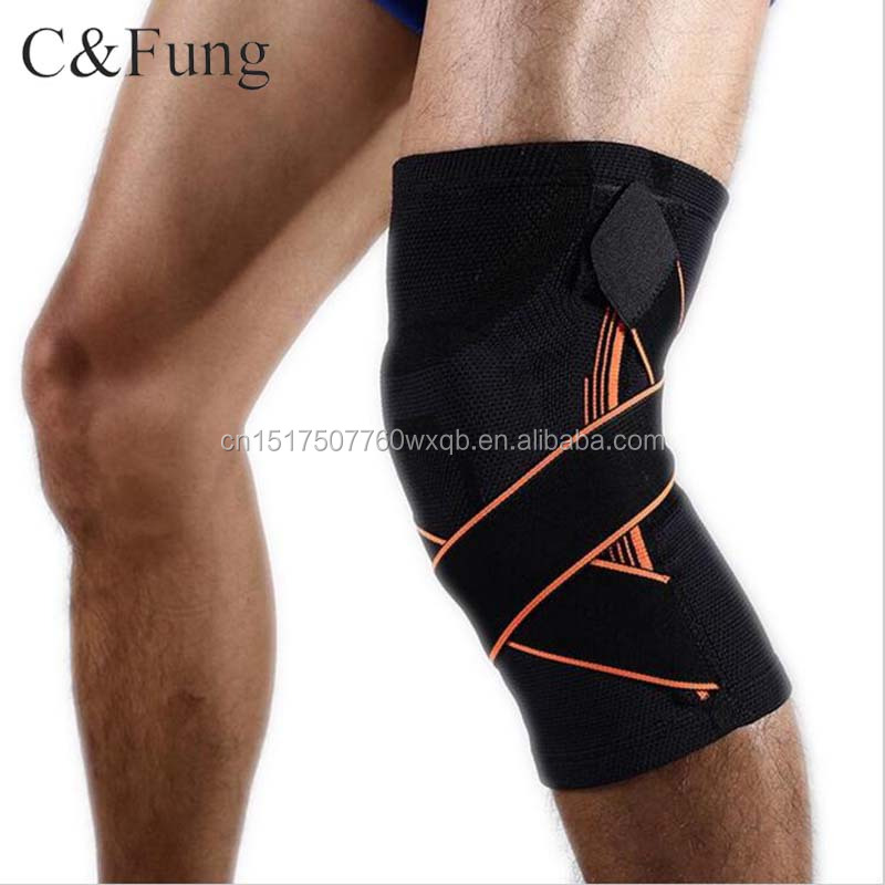 2017 New Style Sporting Goods Knee Supporter , Customized Logo Basketball Knee Pads , Cheap Knee