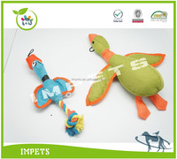 2016 Fashion Dog Toys Customised Wholesale plush pet toys