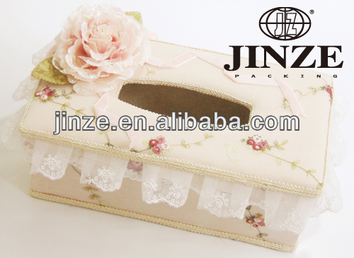 Delicate rectangle tissue boxes wholesale