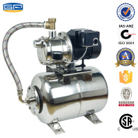 Stainless steel pressure water jet pump and Tank