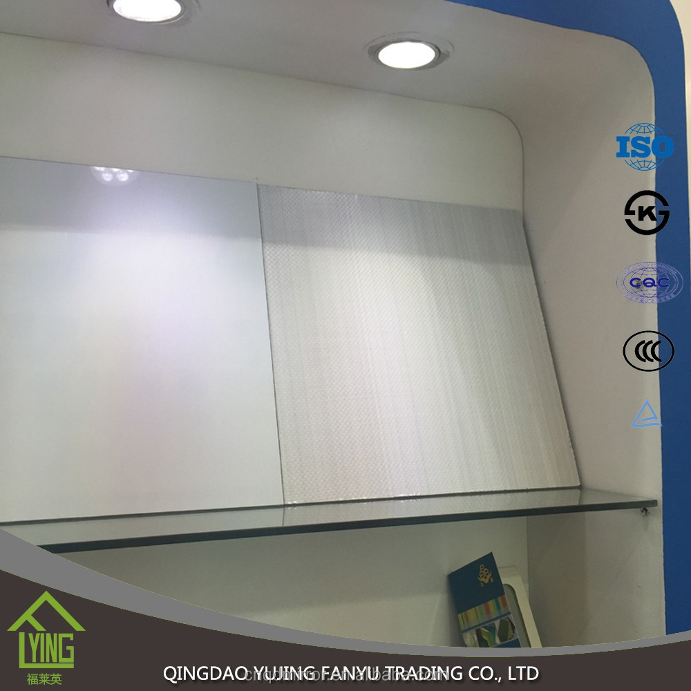High quality silver mirror with safety film
