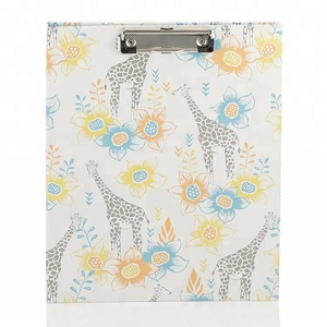 Office Stationery Cardboard File Folder with Clip