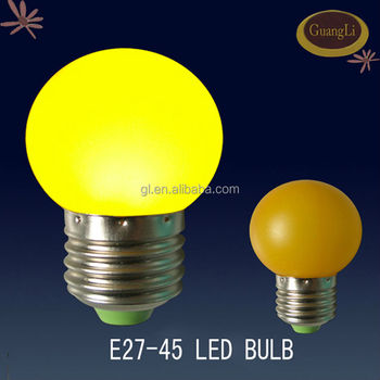 2016 CE approved plastic 110v/220v light bulb easy power led light