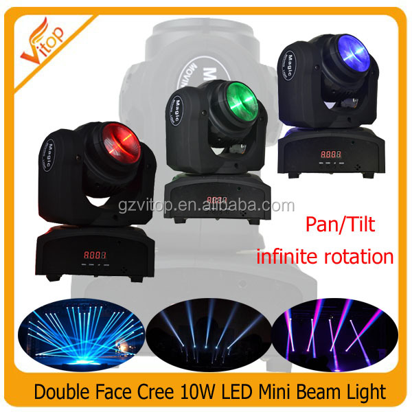 20W new stage lighting Double sides RGBW wash beam led moving head light / mini moving head led