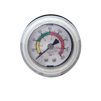 PLASTIC PRESSURE GAUGE FOR WATER PURIFICATION