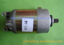 ZY125 motorcycle starter motor for SUZUKI motorcycle parts