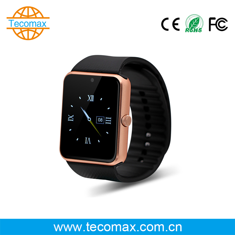 Cheap price bluetooth smart watch Professional Nice design RAM 64MB Sync SMS/ calls/phone book/music electronic watch