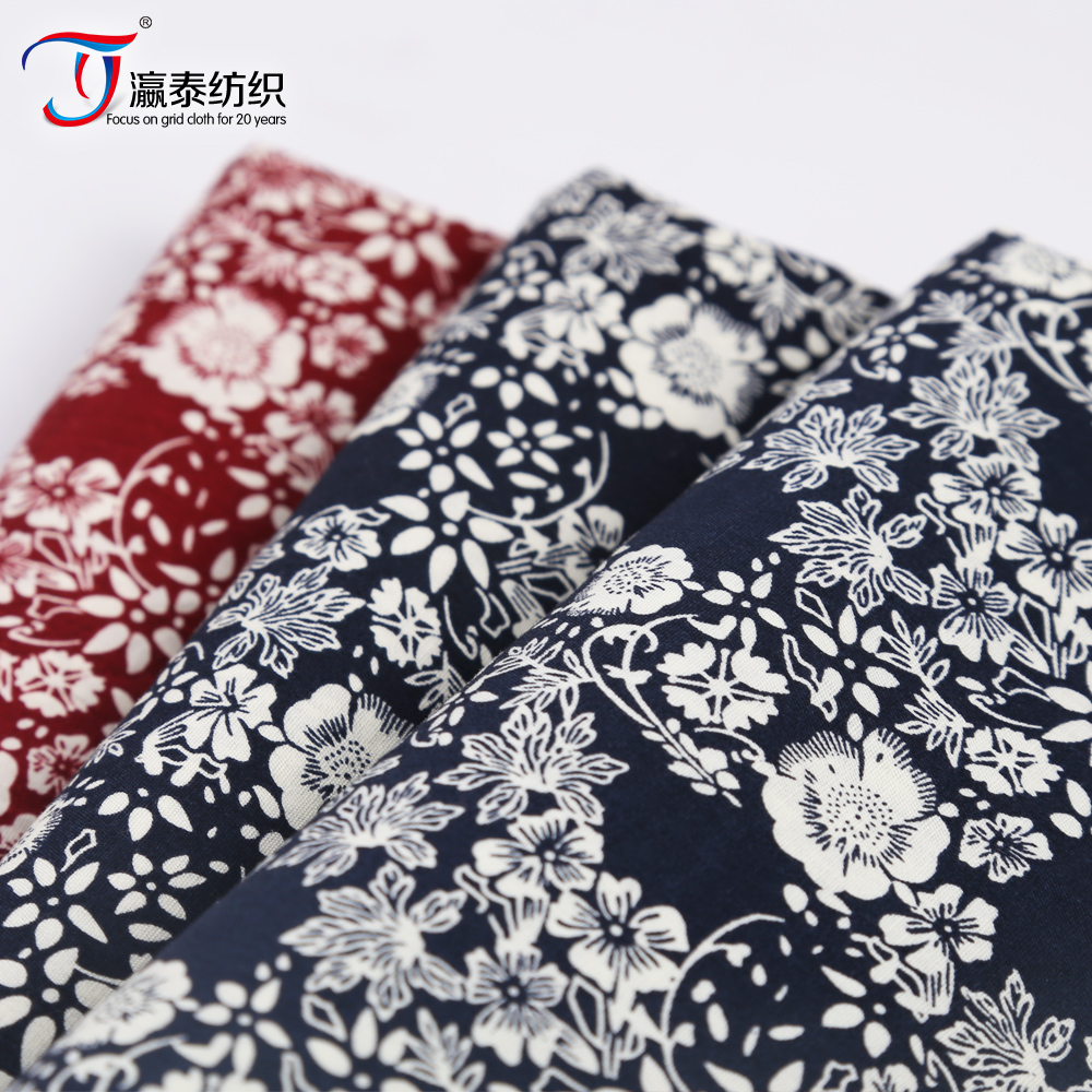 the fashion custom printed fabric design for ladies dress