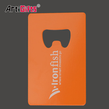 Custom Metal Business Card Letter Bottle Opener Fridge Magnet