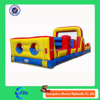 best quality outdoor playground inflatable obstacle course