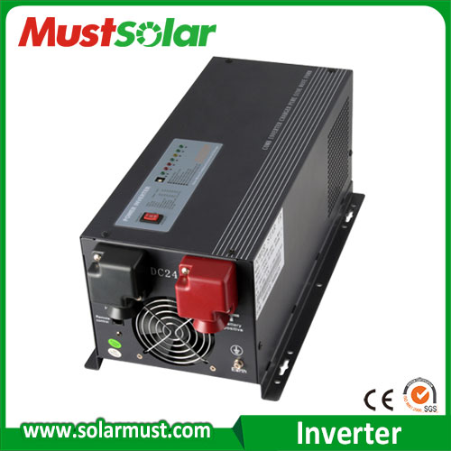 Popular in middle eas market EP3000 series 4KW DC48V Low frequency pure sine wave inverter