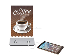 Table Advertising Machine Table Menu Power Bank