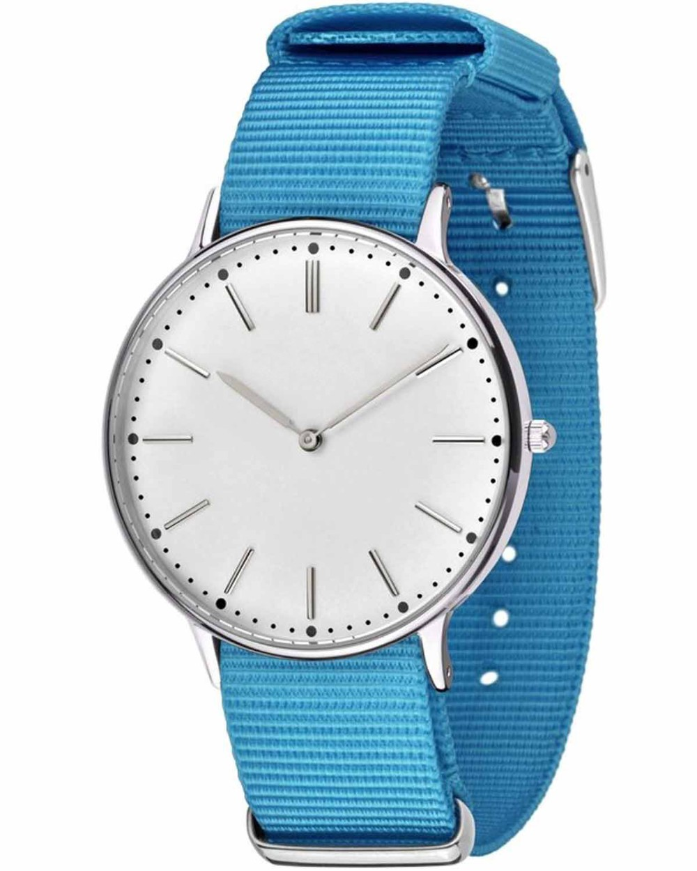 colorful strap japan qurtz movement stainless steel women fashion hand custom logo chronograph watch