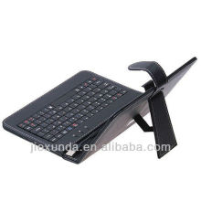 "Black Kickstand 10"" 10.2"" inch Tablet PC USB Keyboard Leather Stand Case Cover Bag For all kinds of Tablet PC"
