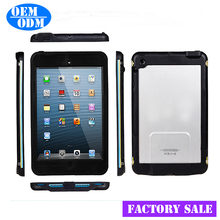Tempered Glass Screen Protector for iPad Mini, Silicone Bumper for iPad Mini,Waterproof Case for iPad Mini
